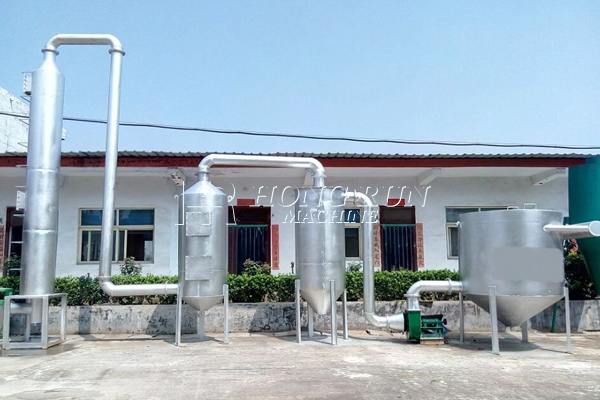 Gasifier And Purifier Dryer